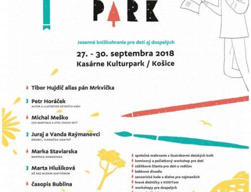 Jesenné knižkohranie v Kulturparku
