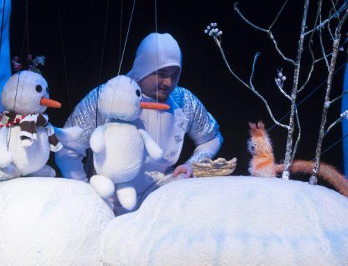 A. Veselov: Slniečko a snežní ľudkovia