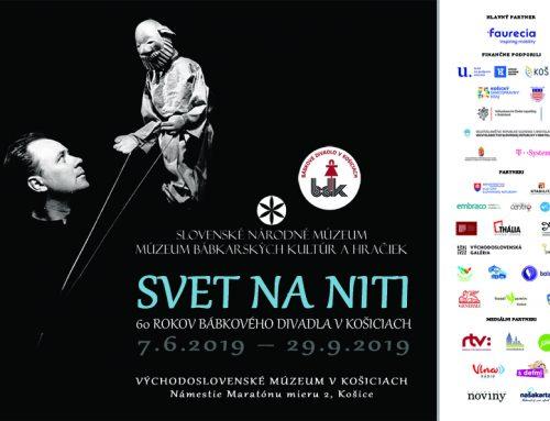 Svet na niti. 60 rokov Bábkového divadla v Košiciach