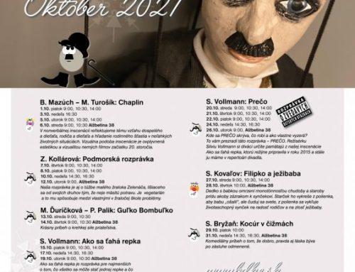 Brány divadla otvorené aj v októbri